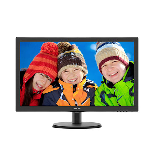 Monitor, PC, 22, pulgadas, FHD, VGA, HDMI, Smart, Control, Philips, 223v5lhsb2, novogar